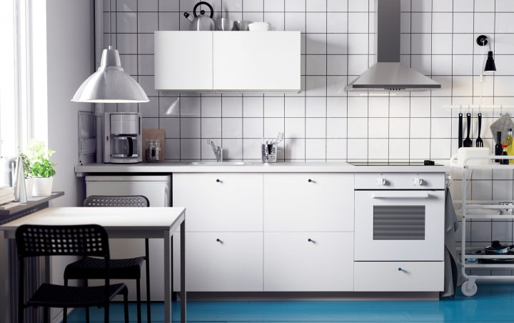 What can you do with small spaces in your kitchen?