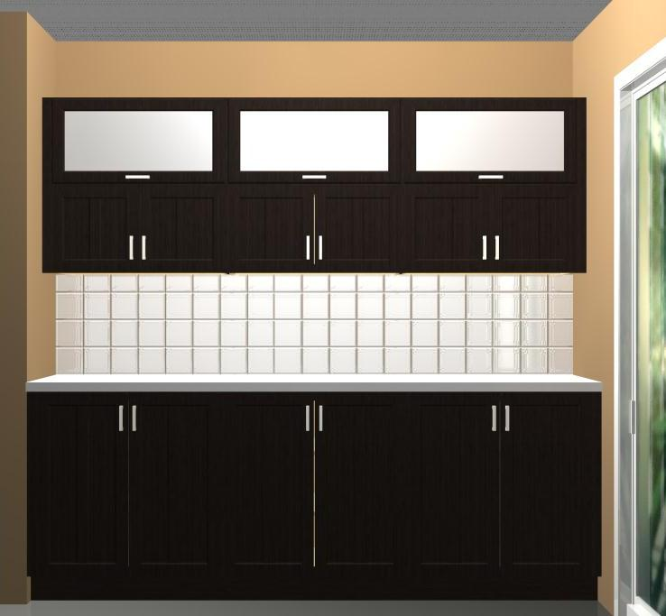 outstanding ikea kitchen wall storage | Using different wall cabinet heights in your IKEA kitchen