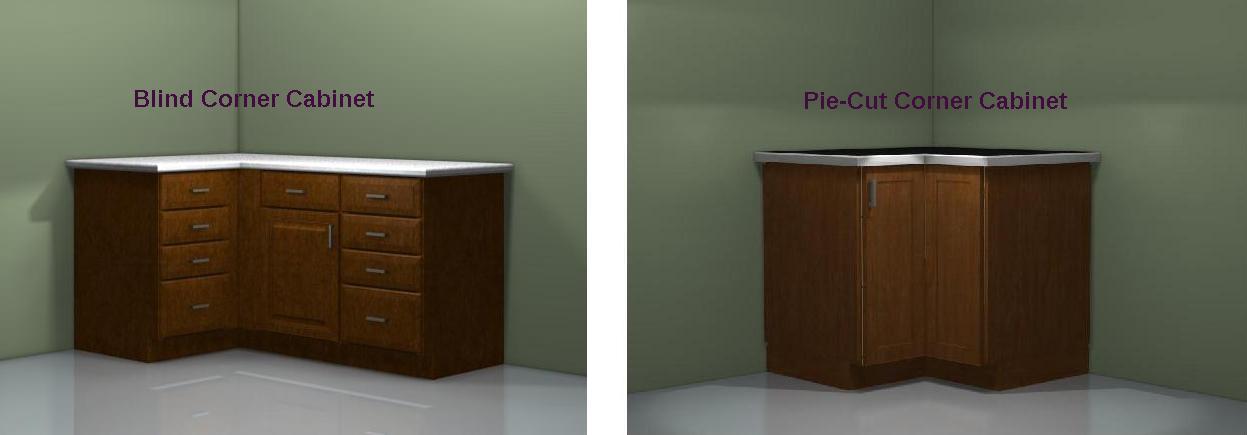 Storage Solutions Kitchen Corner Cabinets