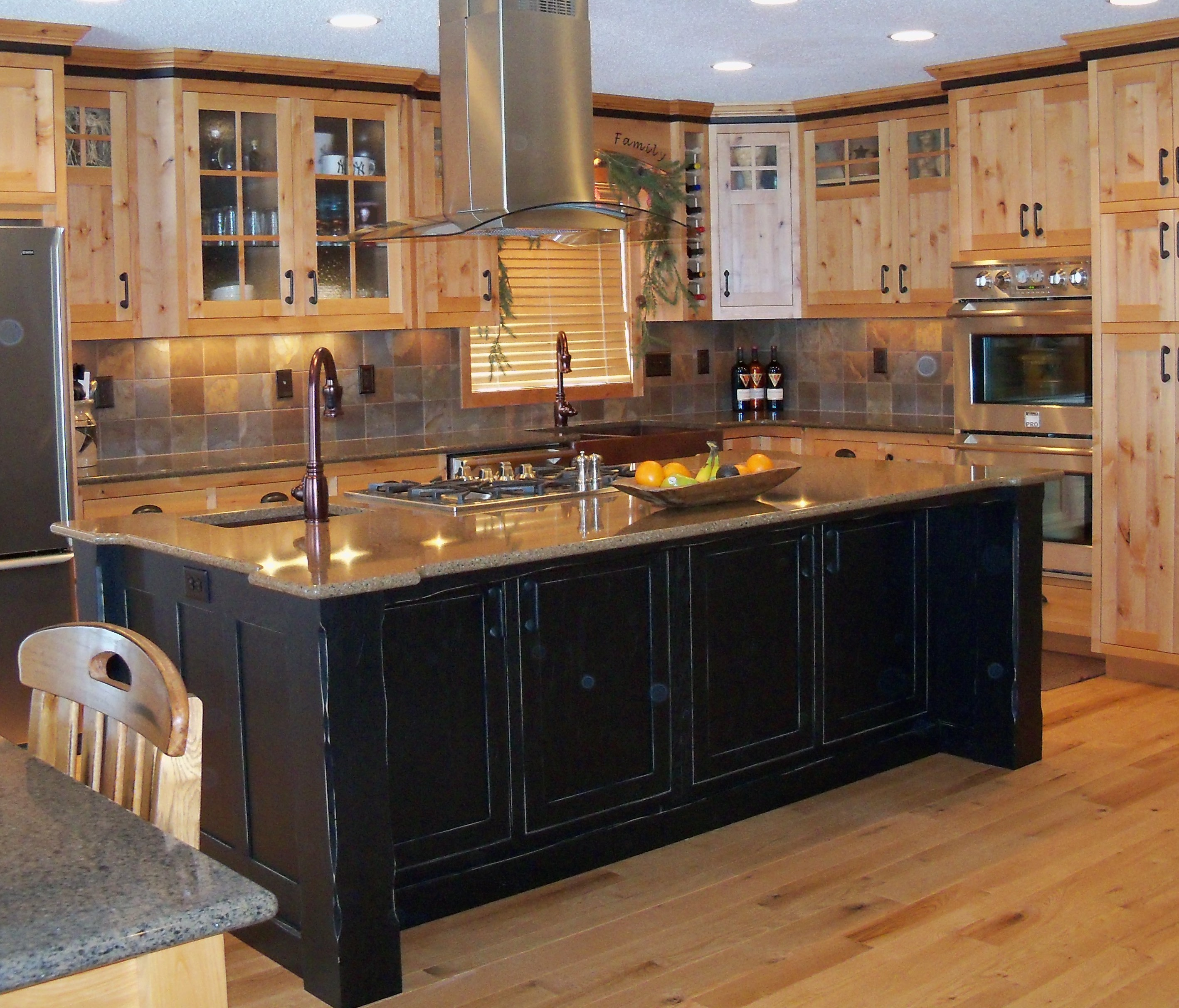 Natural Oak Cabinets Best Of 20 Amazing White Oak Cabinets: Using Wall Cabinets As Bases For A Unique Kitchen Island