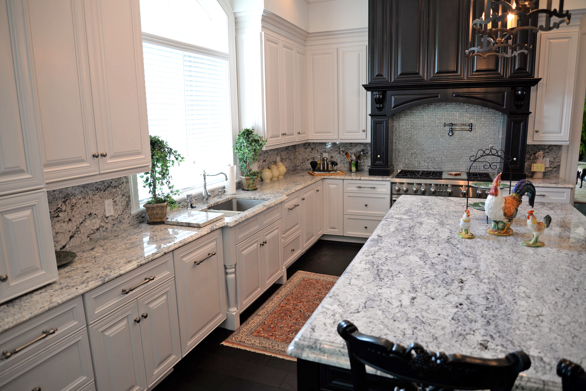 Popular Granite Countertop Configurations Orlando: Kitchen Island Configurations: Granite Countertops For