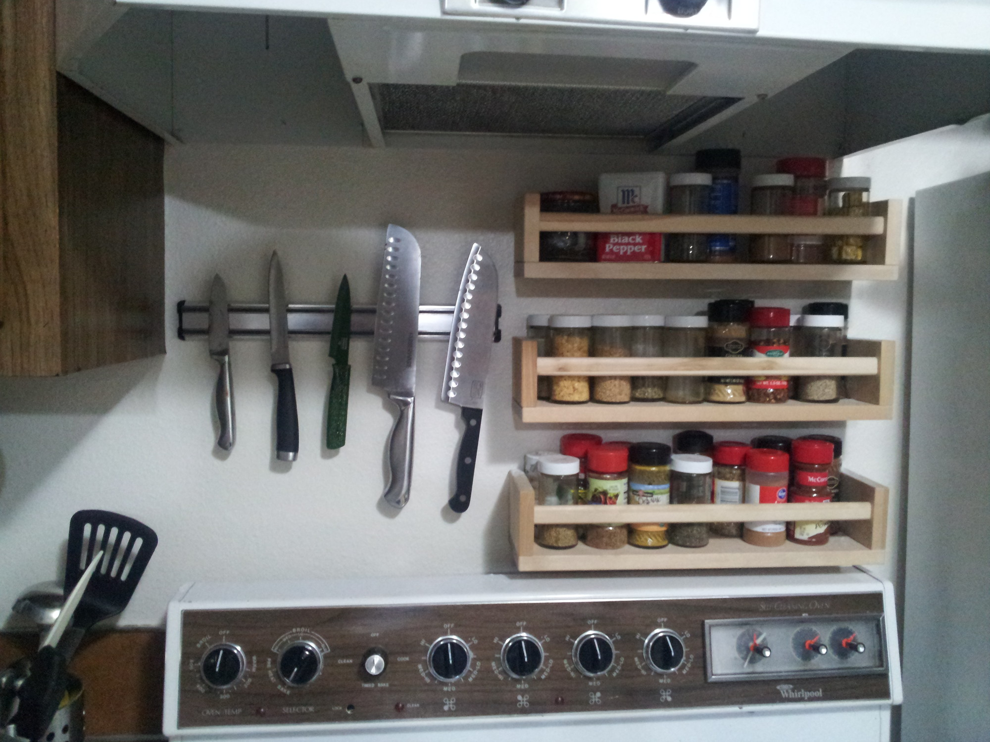 Spice Storage Solutions Ikea S Perfekt Shelves