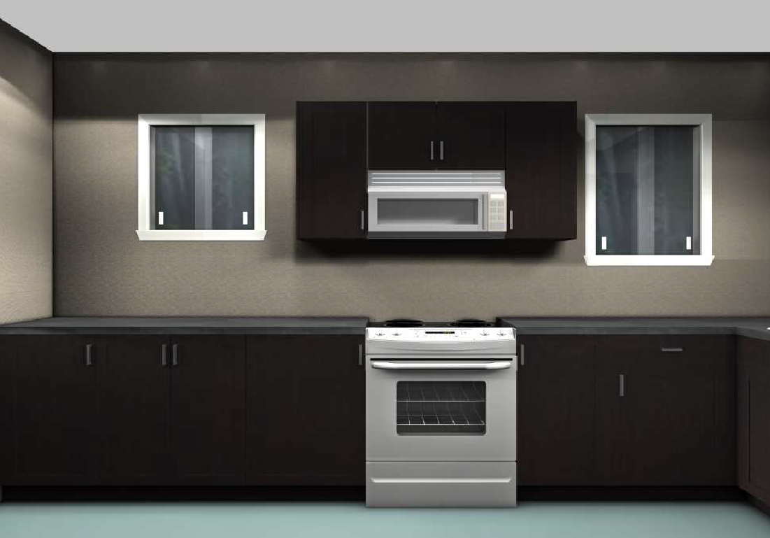 Ikea kitchen remodel for a rental unit for Galley kitchen designs 2012
