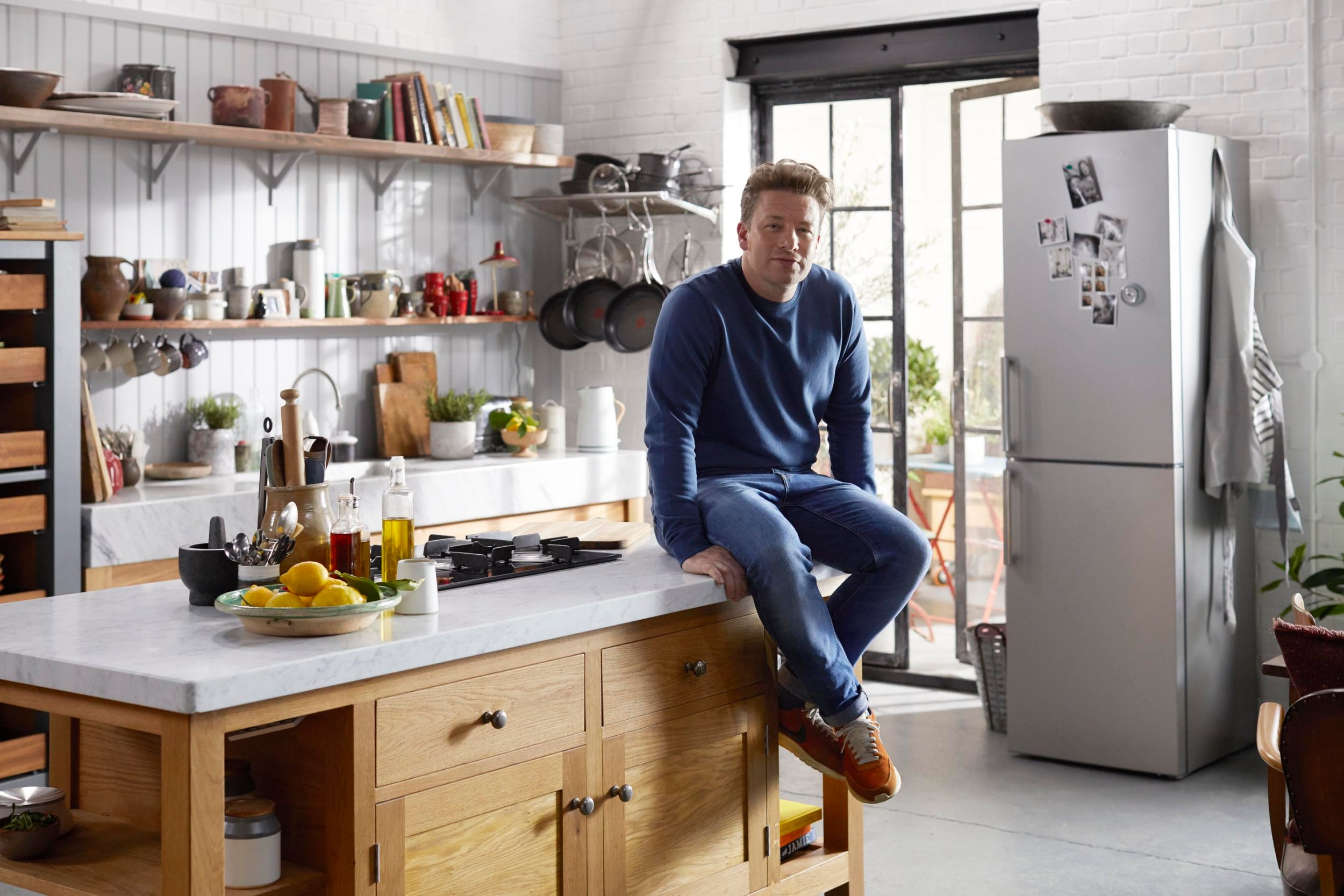 Famous Kitchens Get The Look Jamie Oliver Tv Chefs Edition