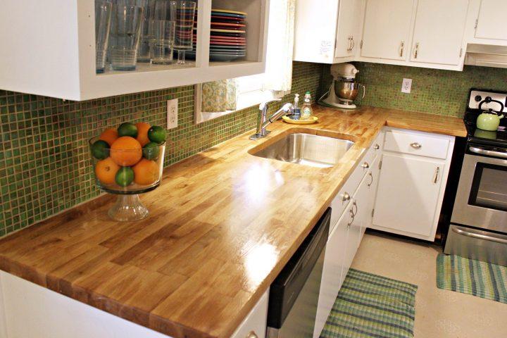 IKEA countertops: wood