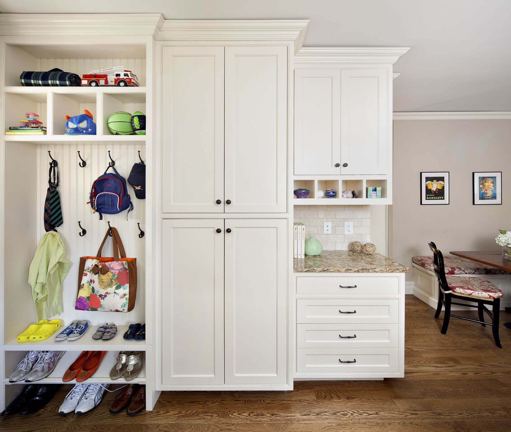 Storage Solutions: An IKEA Mudroom