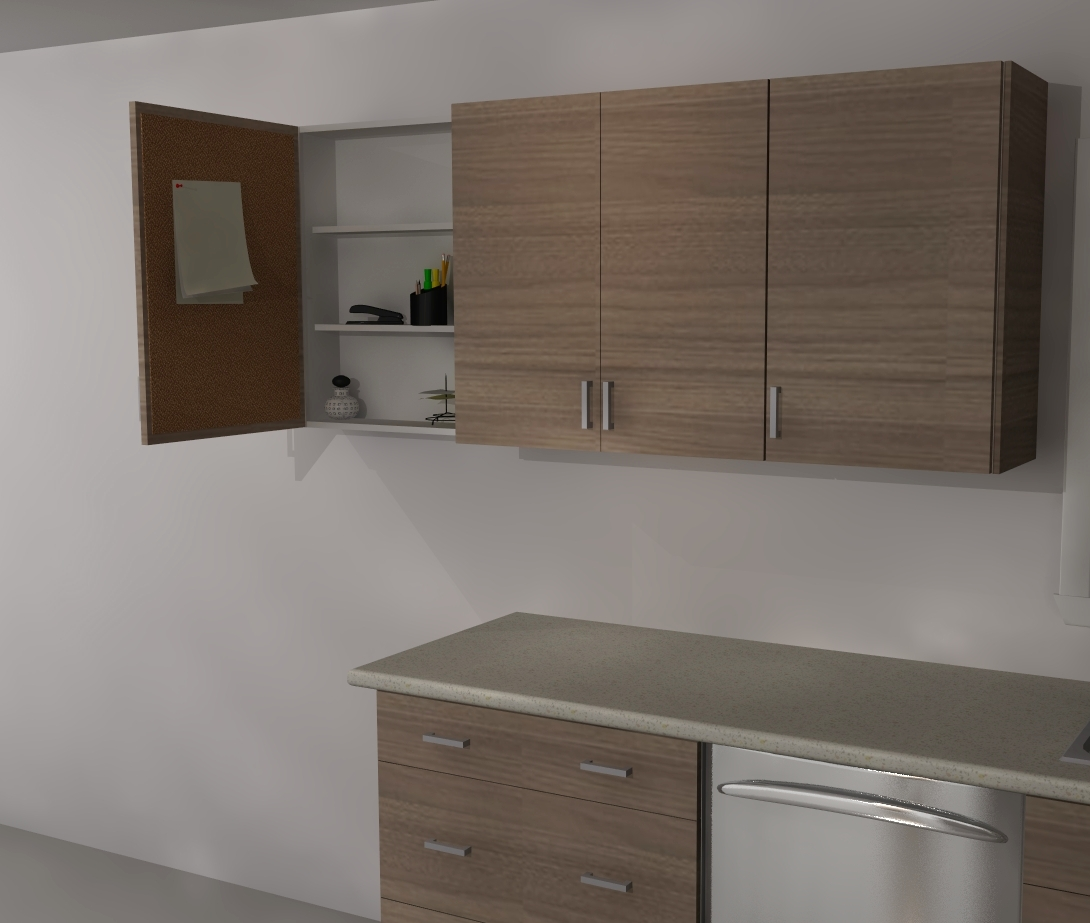 Are Ikea Kitchen Cabinets Good: IKEA Custom Cabinets: A Message Center
