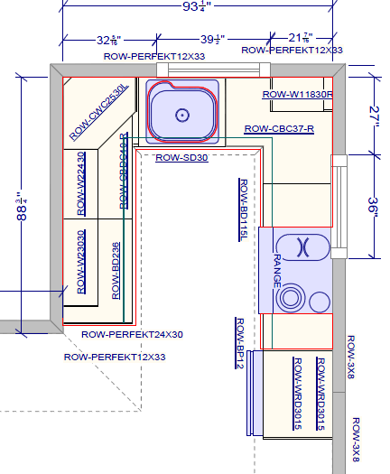 Bloombety Small U Shaped Kitchen Layout1 U Shaped: Miscellaneous : U Shaped Kitchen Layouts