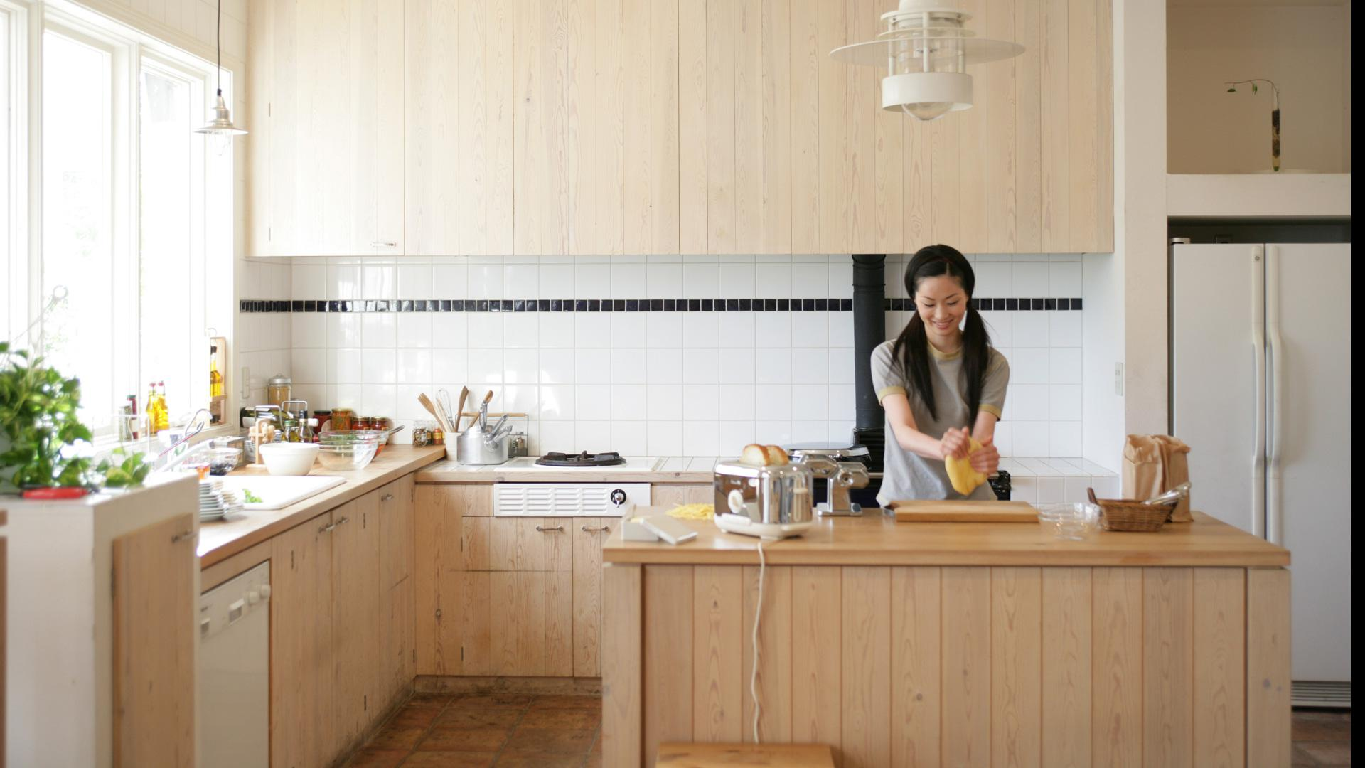 how to hide smaller appliances in your ikea kitchen. Black Bedroom Furniture Sets. Home Design Ideas