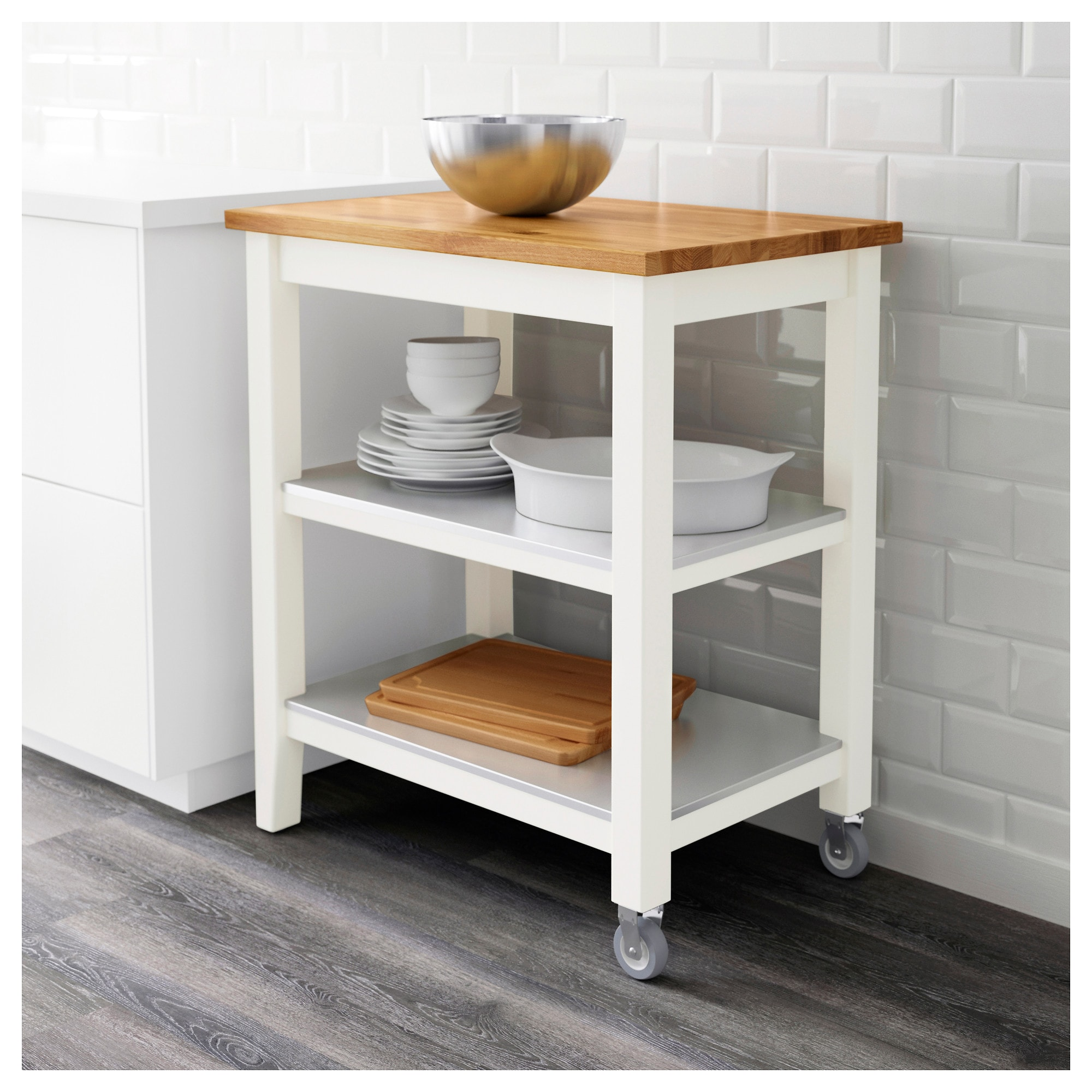 IKEA Kitchen Carts: Featuring The STENSTORP Kitchen Cart