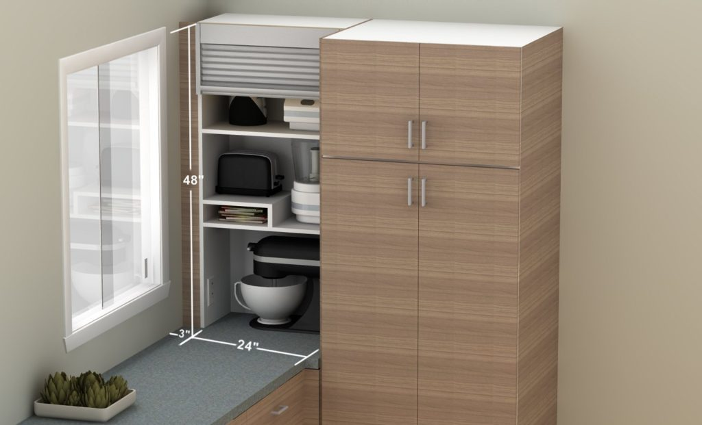 How To Hide Smaller Appliances In Your Ikea Kitchen