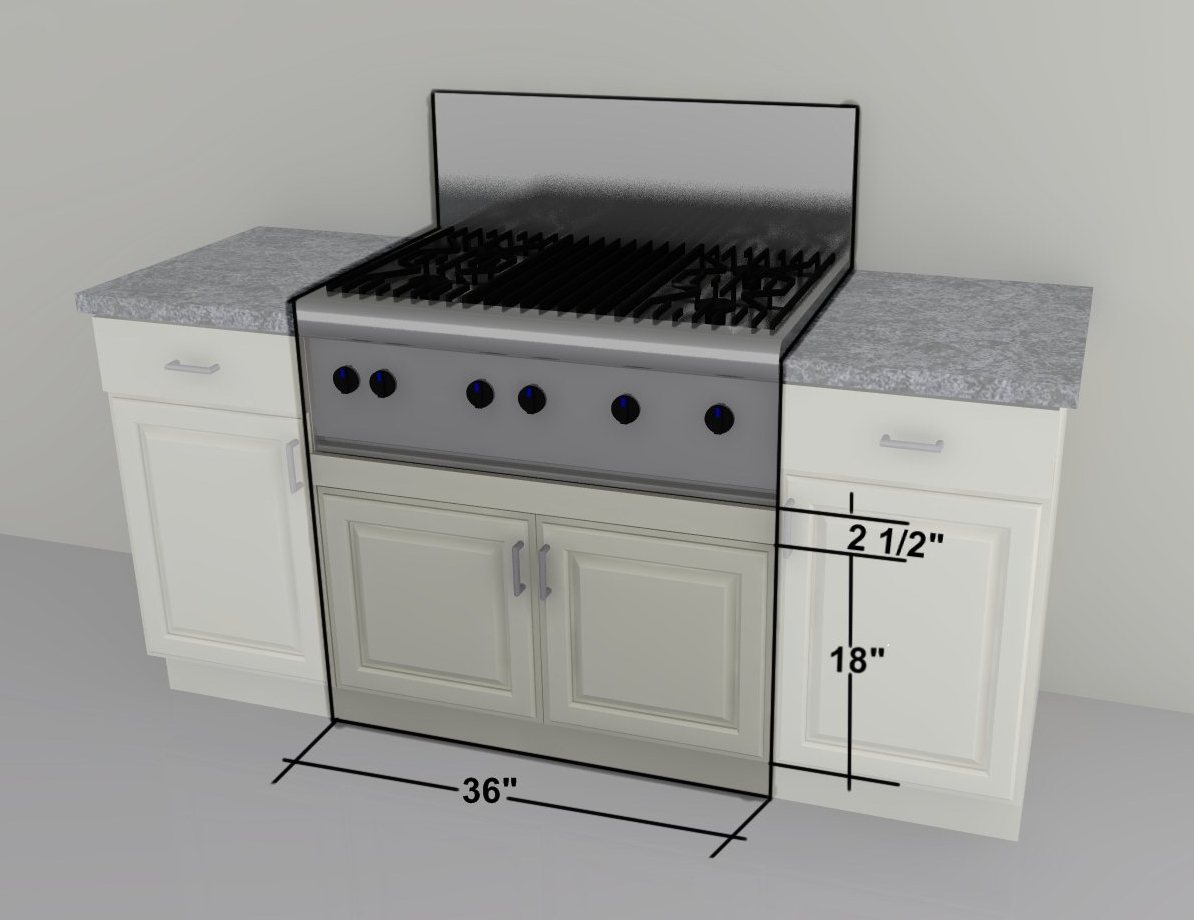 Aneboda Ikea Kleiderschrank ~   ″ gas cooktop with front controls will need an IKEA custom cabinet