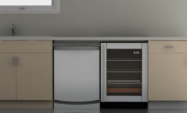 This seems to be fairly normal. An appliance under your IKEA countertop...