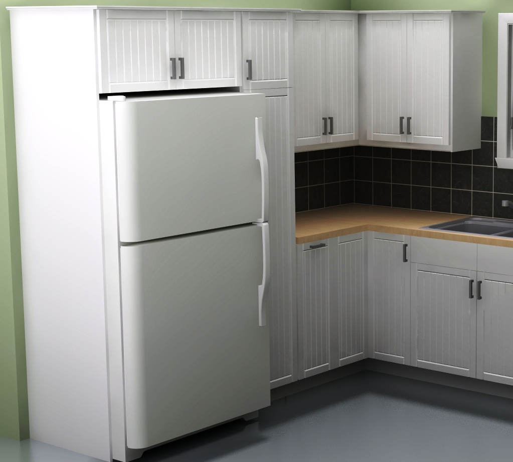 Refrigerator Wall Cabinet: Fridge Wall