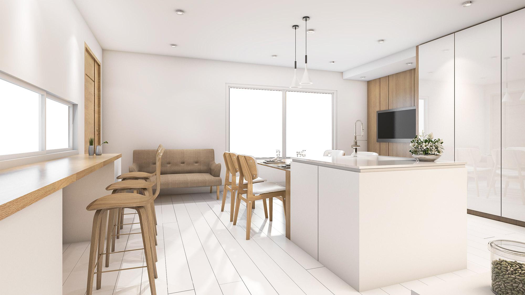 5 White kitchens we love - Part I