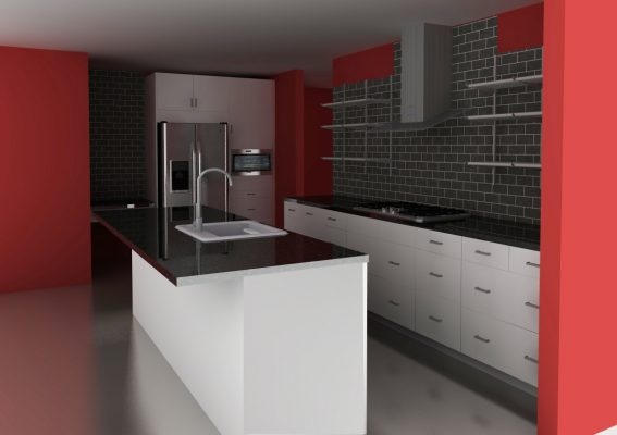 The bold white IKEA kitchen: Perk it up with a splash of color!