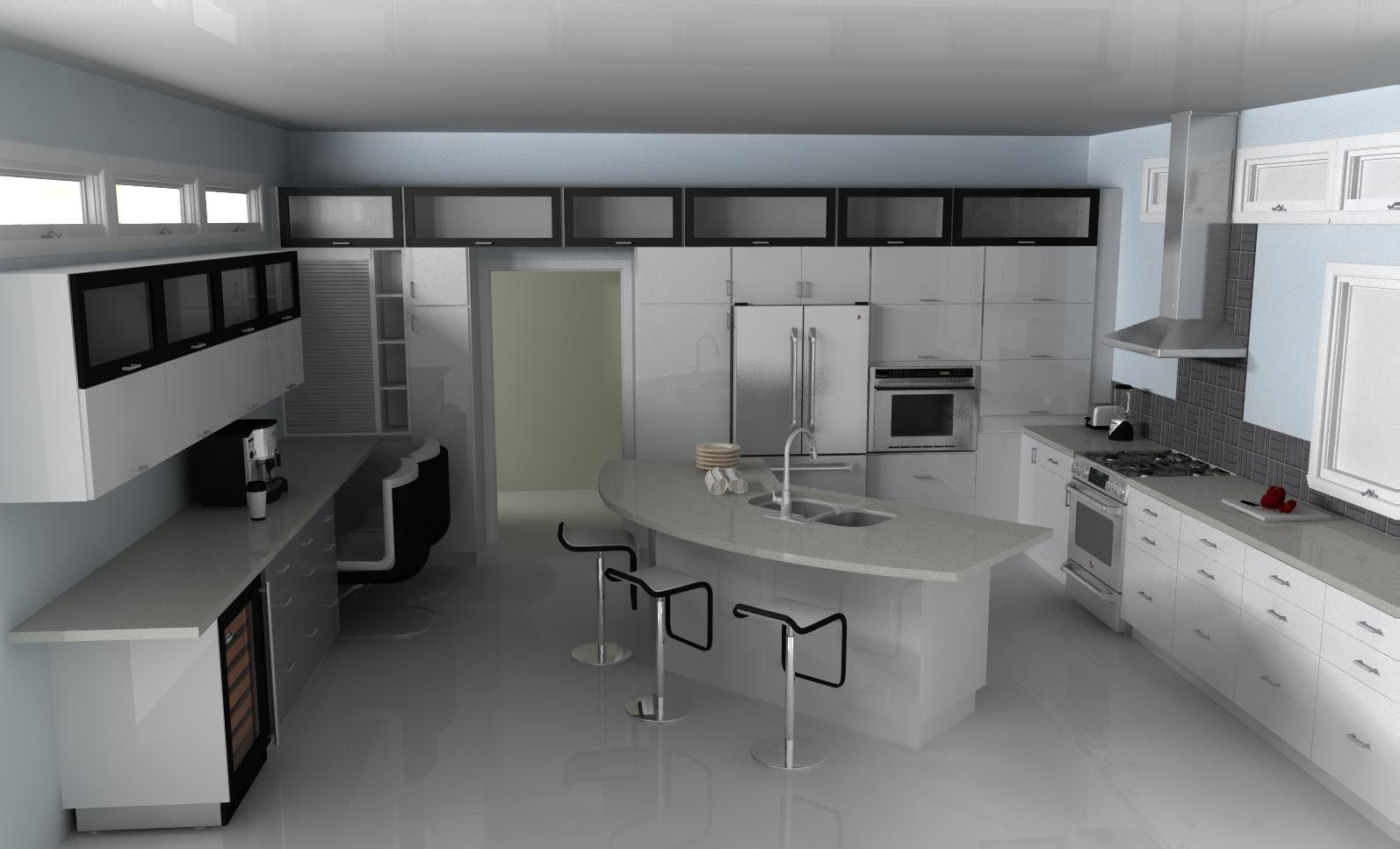 ultra modern kitchens with islands the ultra modern white ikea kitchen 189