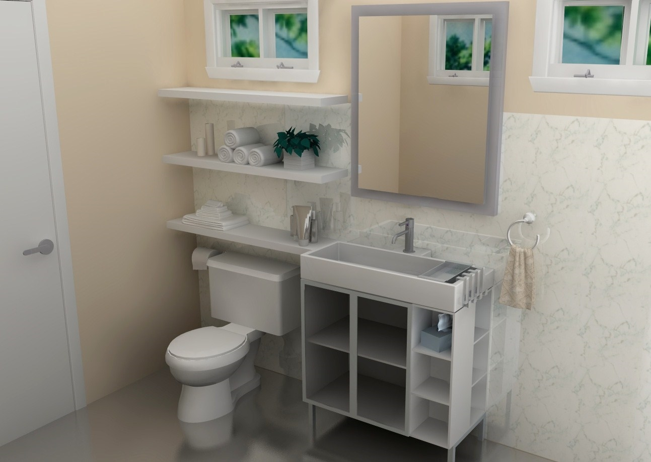 Lillangen bathroom sink - Bagno completo ikea ...