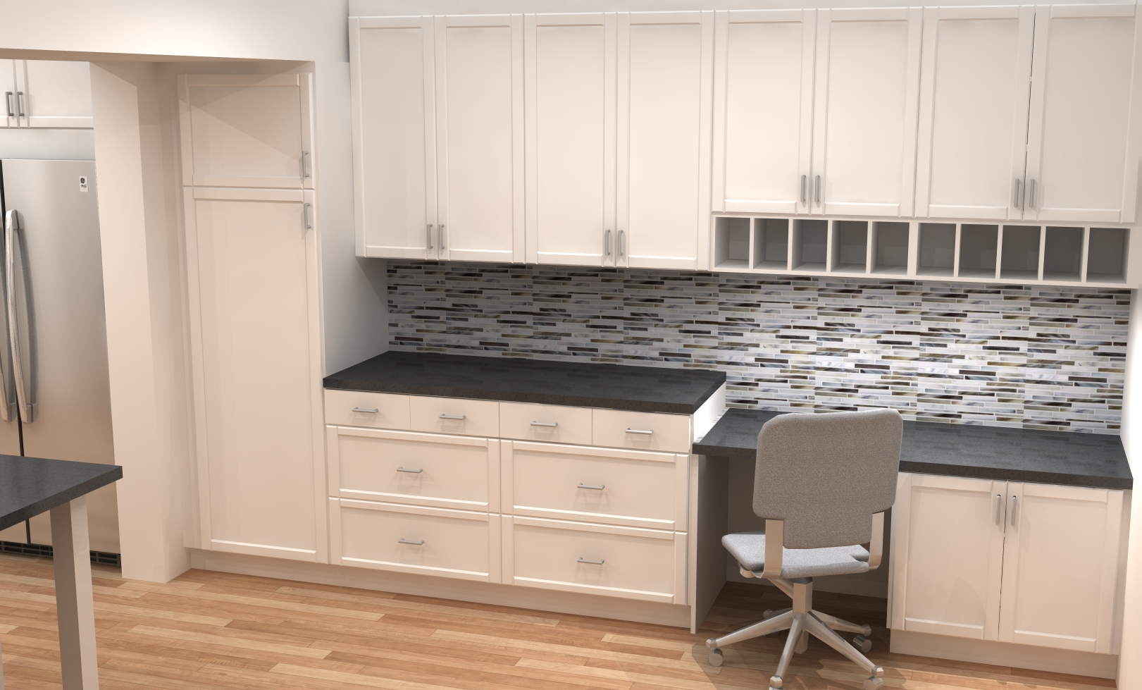 Small kitchen remodel with ikea cabinets for Kitchen cabinets at ikea