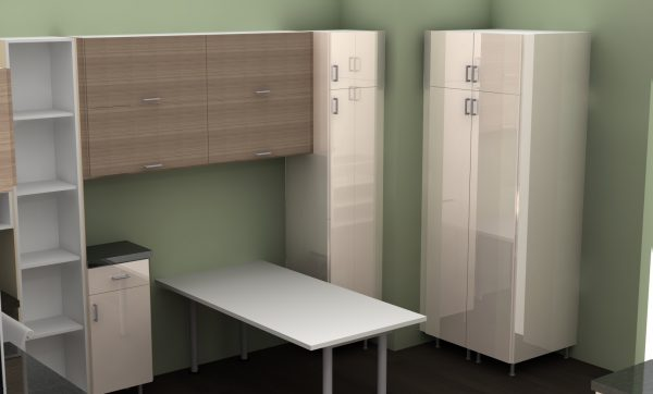 IKEA Galant desk home office cabinets