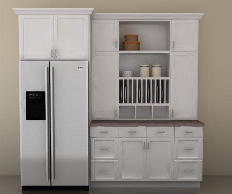 Get A Custom Ikea Kitchen With A Built In Hutch