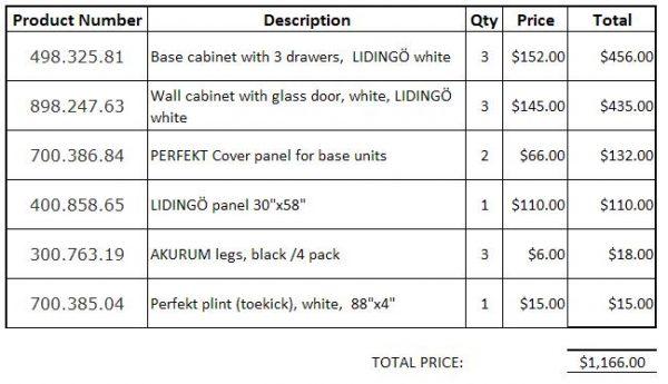 linen closet price ikea
