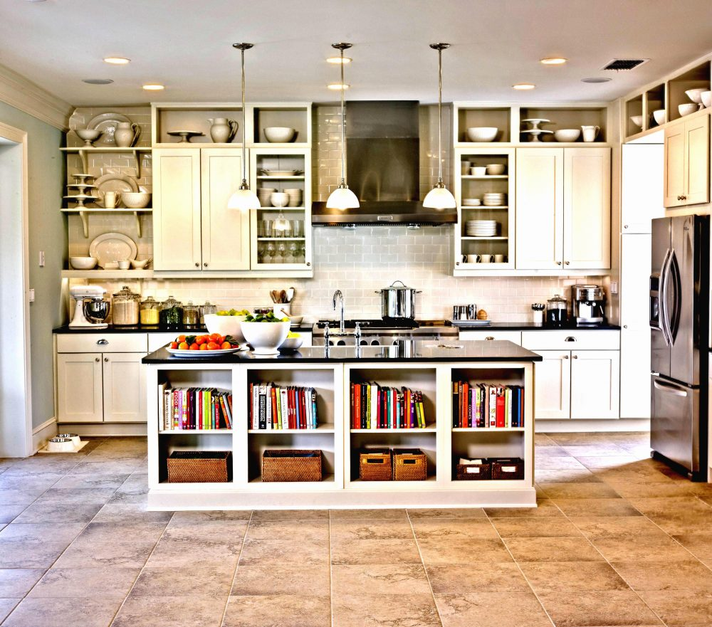 Open Kitchen Cabinet Designs: Open Shelves In Your Kitchen With IKEA Baskets