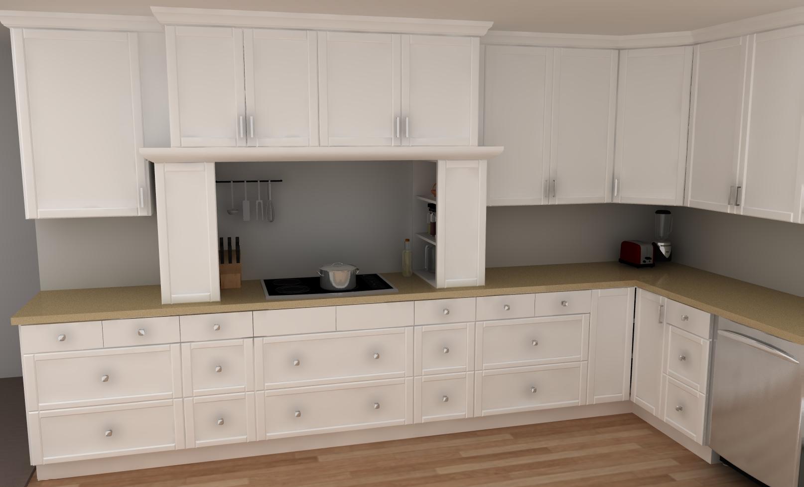 IKEA Kitchen Cabinets Hood