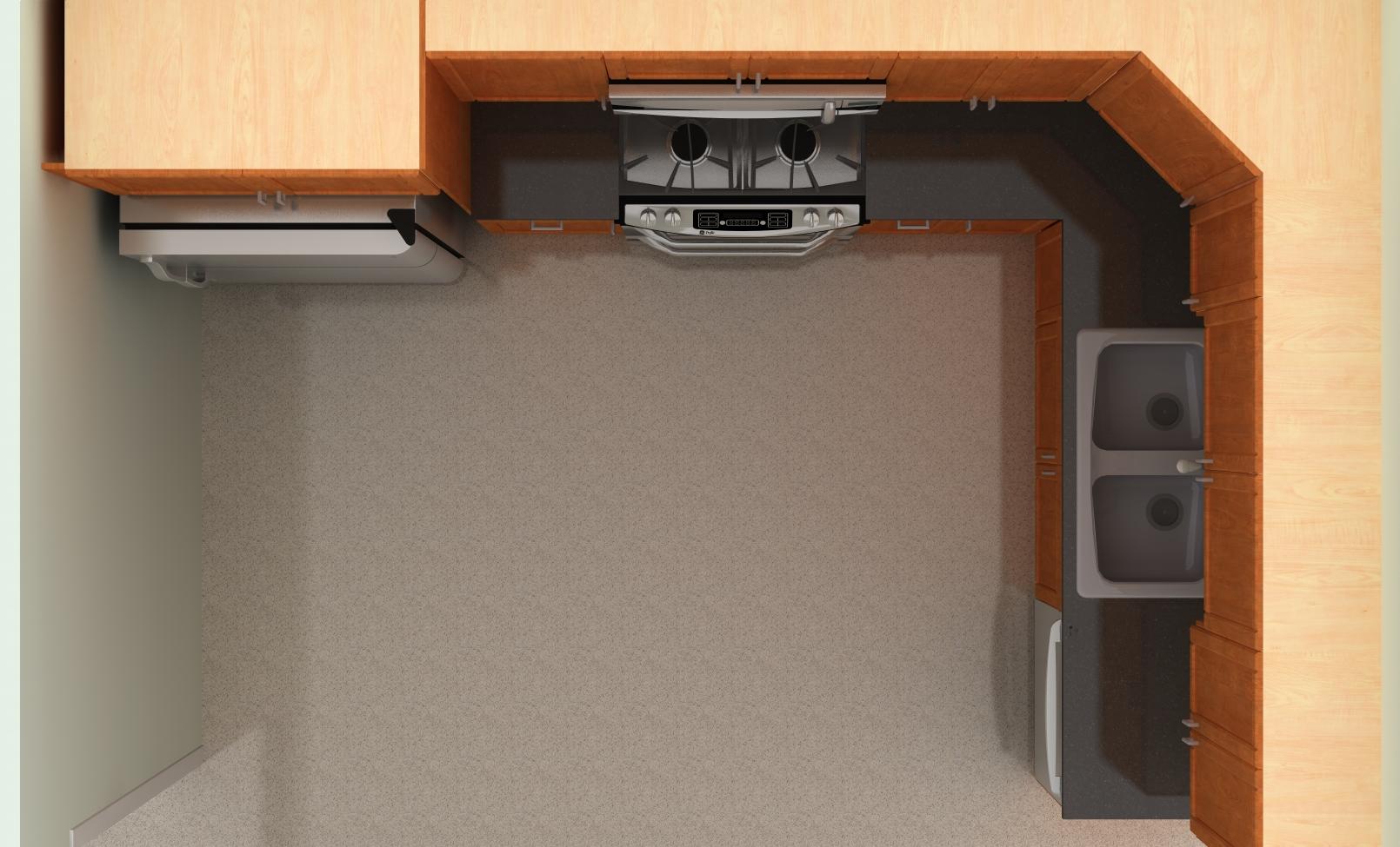 B Q Kitchen Islands Ikea Kitchen Design Top View