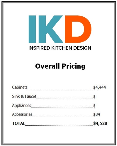 total price for an ikea kitchen