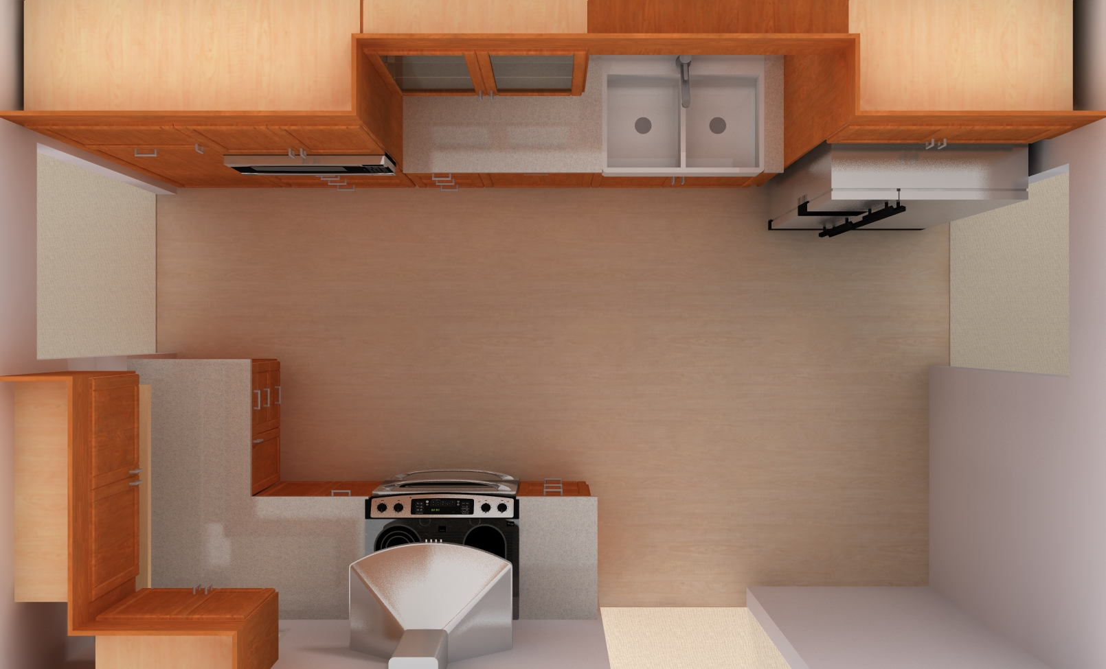 Top view ikea kitchen design for Kitchen top design
