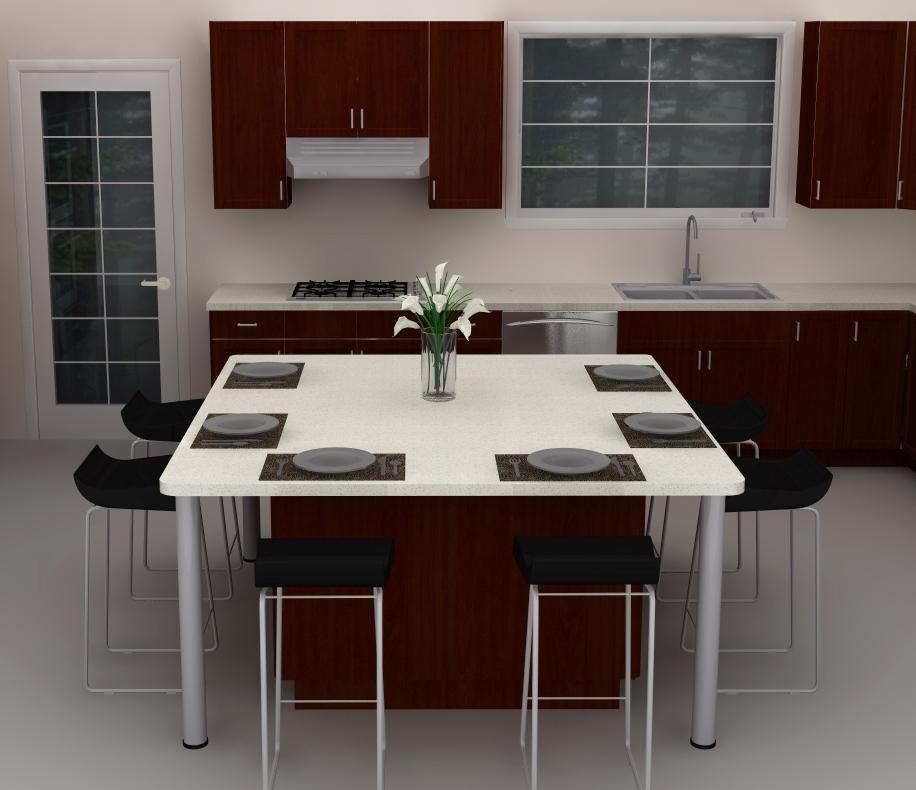 Ikea Kitchen Dining Island