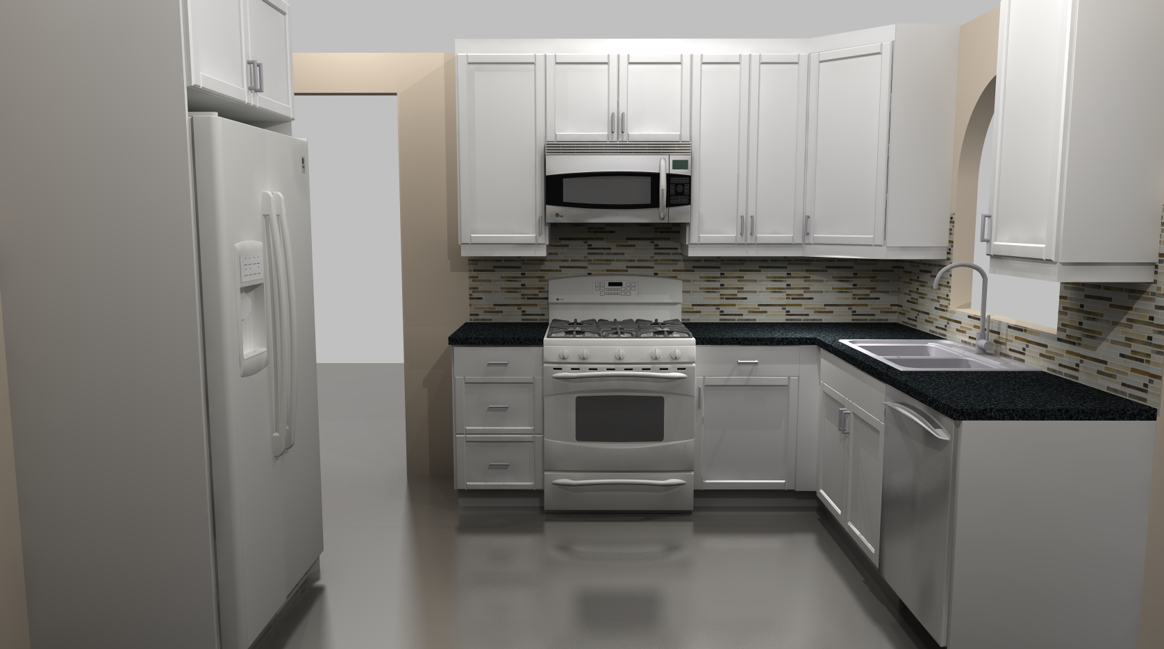 A budget friendly ikea kitchen remodel for Kitchen cabinets ikea