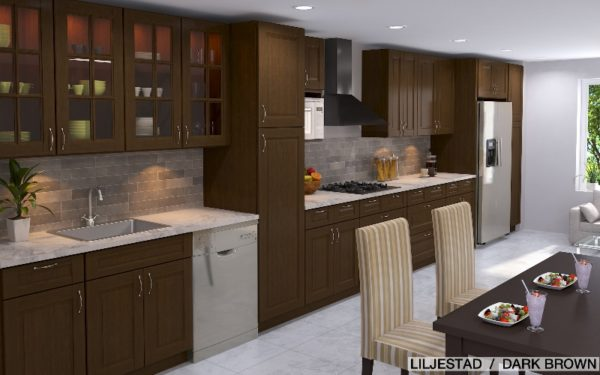 A transitional IKEA kitchen combines the best of traditional and modern!