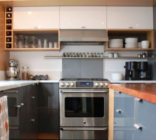 Kitchen With Open Cabinets: Take A Look At These IKEA Kitchen Ideas For Open Cabinets