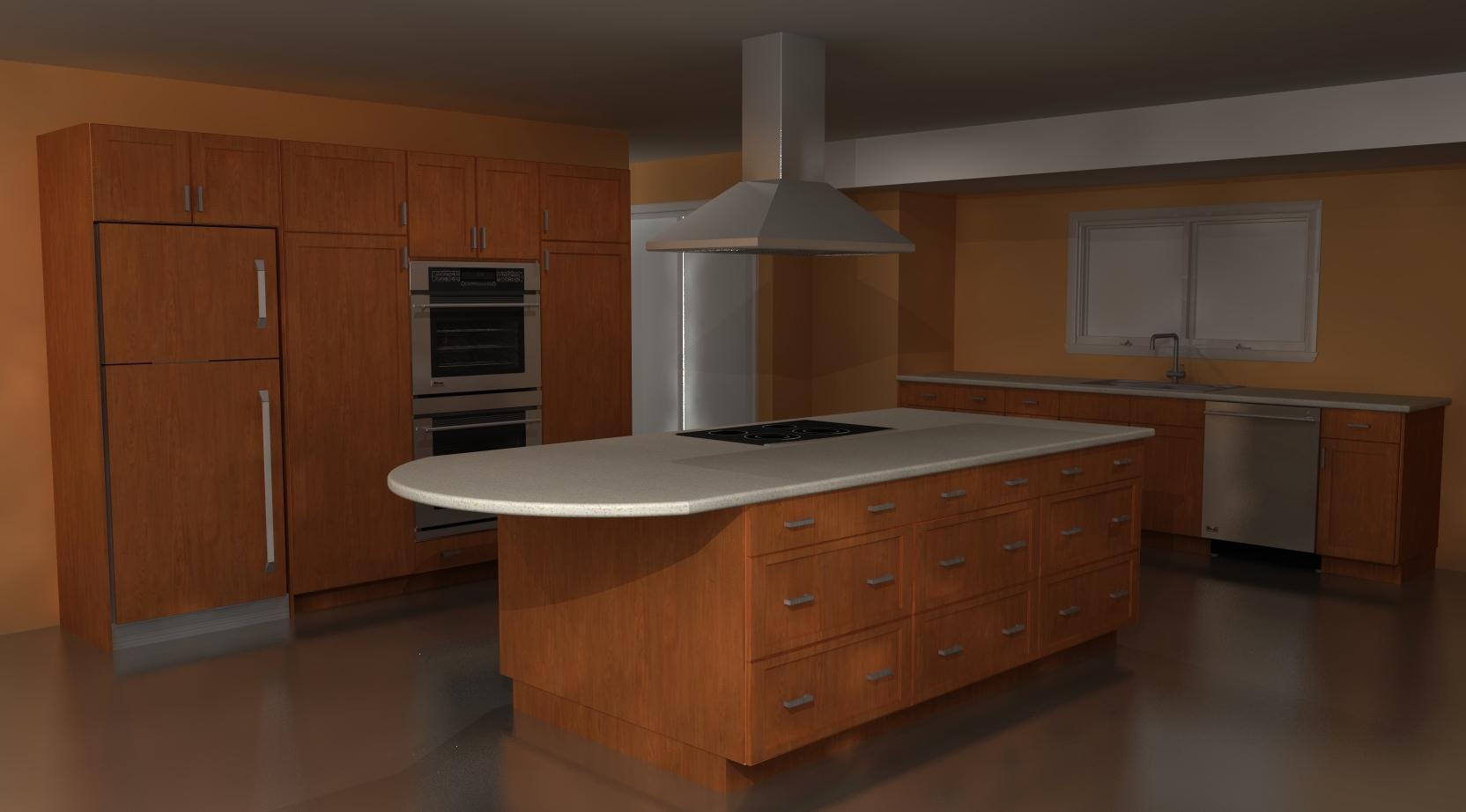 Design Ideas A Warm Contemporary Ikea Kitchen