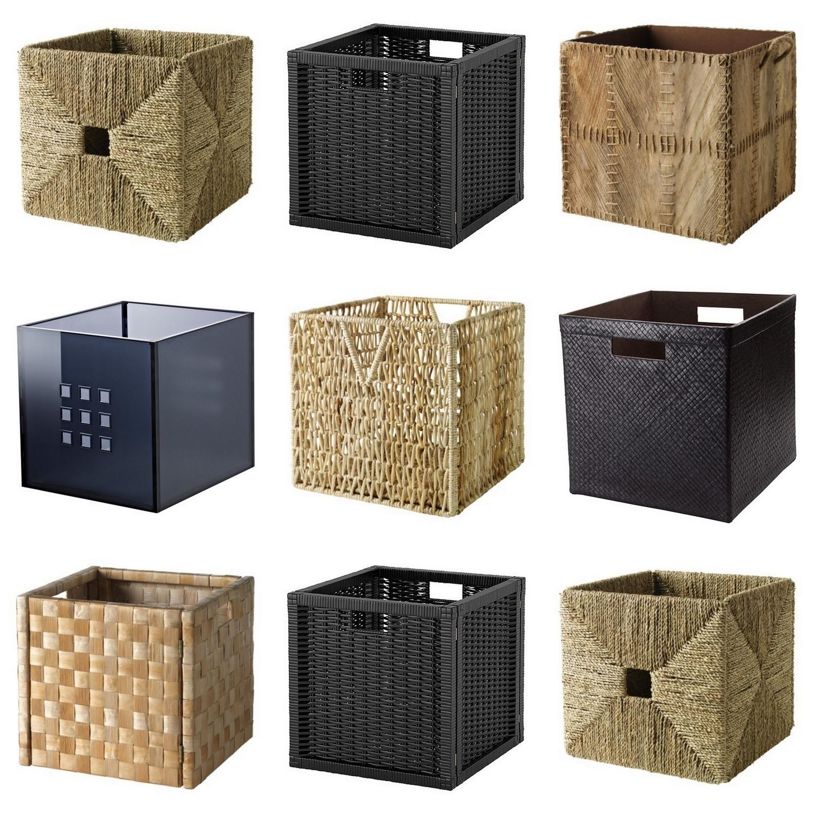 Ikea Expedit Kitchen: IKEA Baskets In The Kitchen