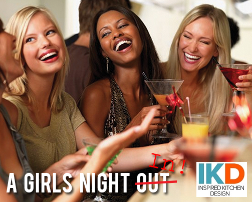 Girls night IN! In your own home bar!