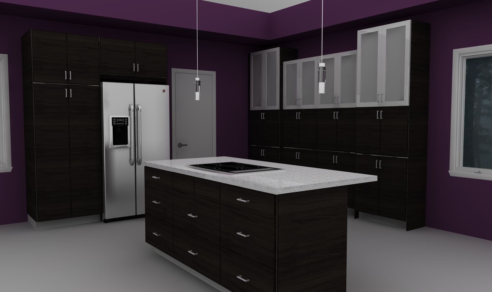 luxurious modern black kitchen with ikea cabinets