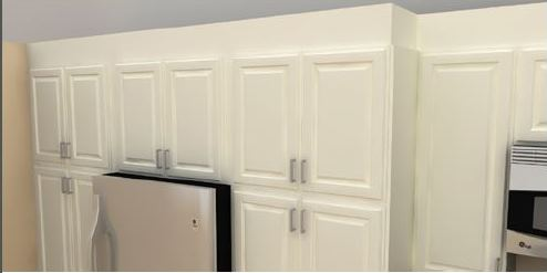 Kitchen Wall Unit Side Panel