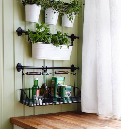 Five free ikea kitchen design hacks Ikea hanging kitchen storage