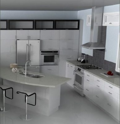unique IKEA kitchen design
