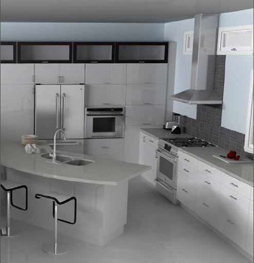 Elegant Unique IKEA Kitchen Design