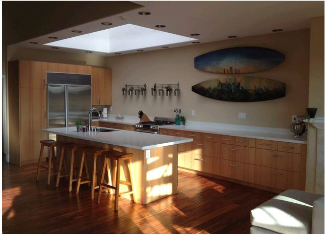 IKD Kitchen Fave: A Custom IKEA Kitchen by the Sea