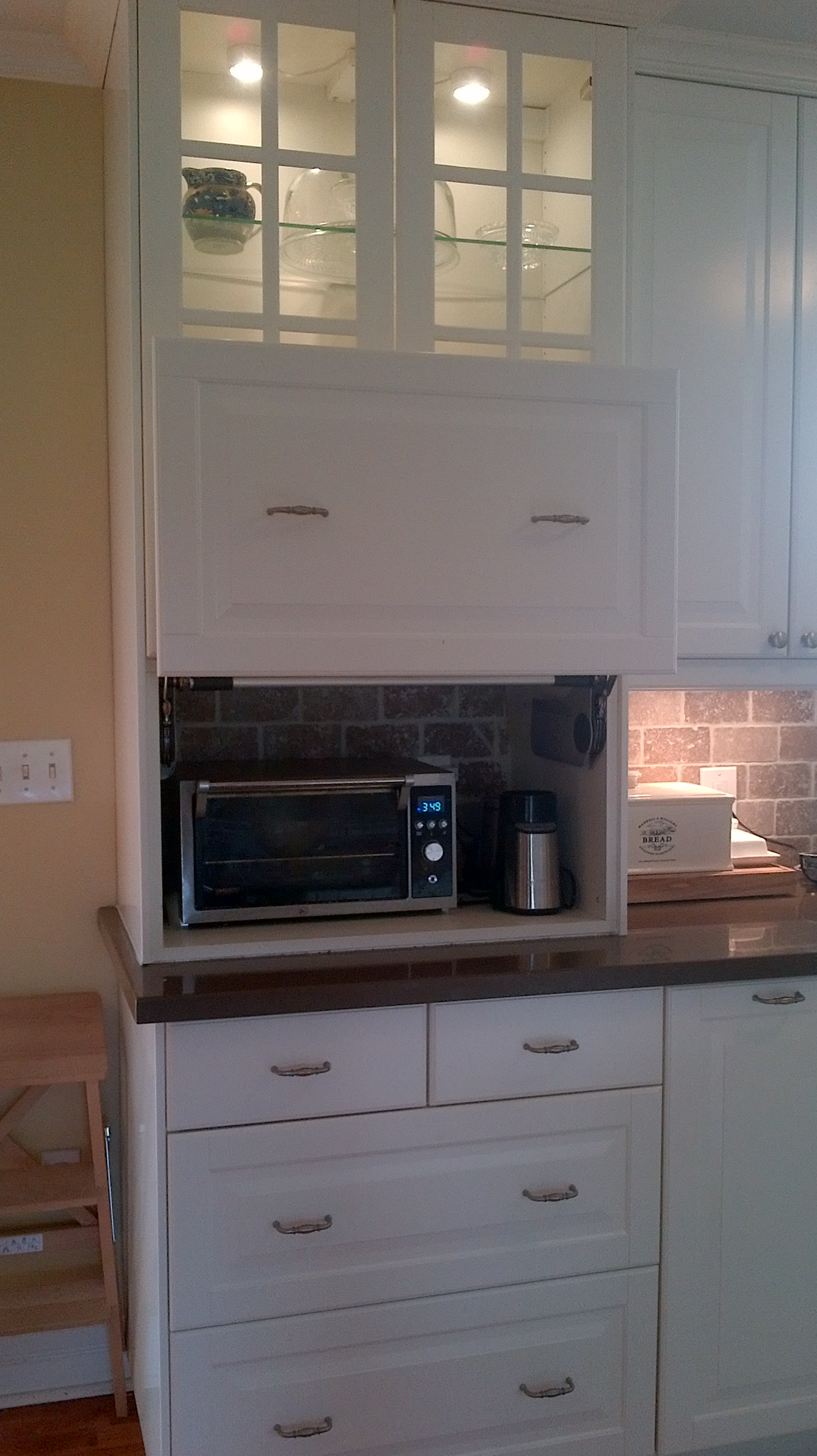 Custom Ikea Kitchen Cabinets For A Family On The Go