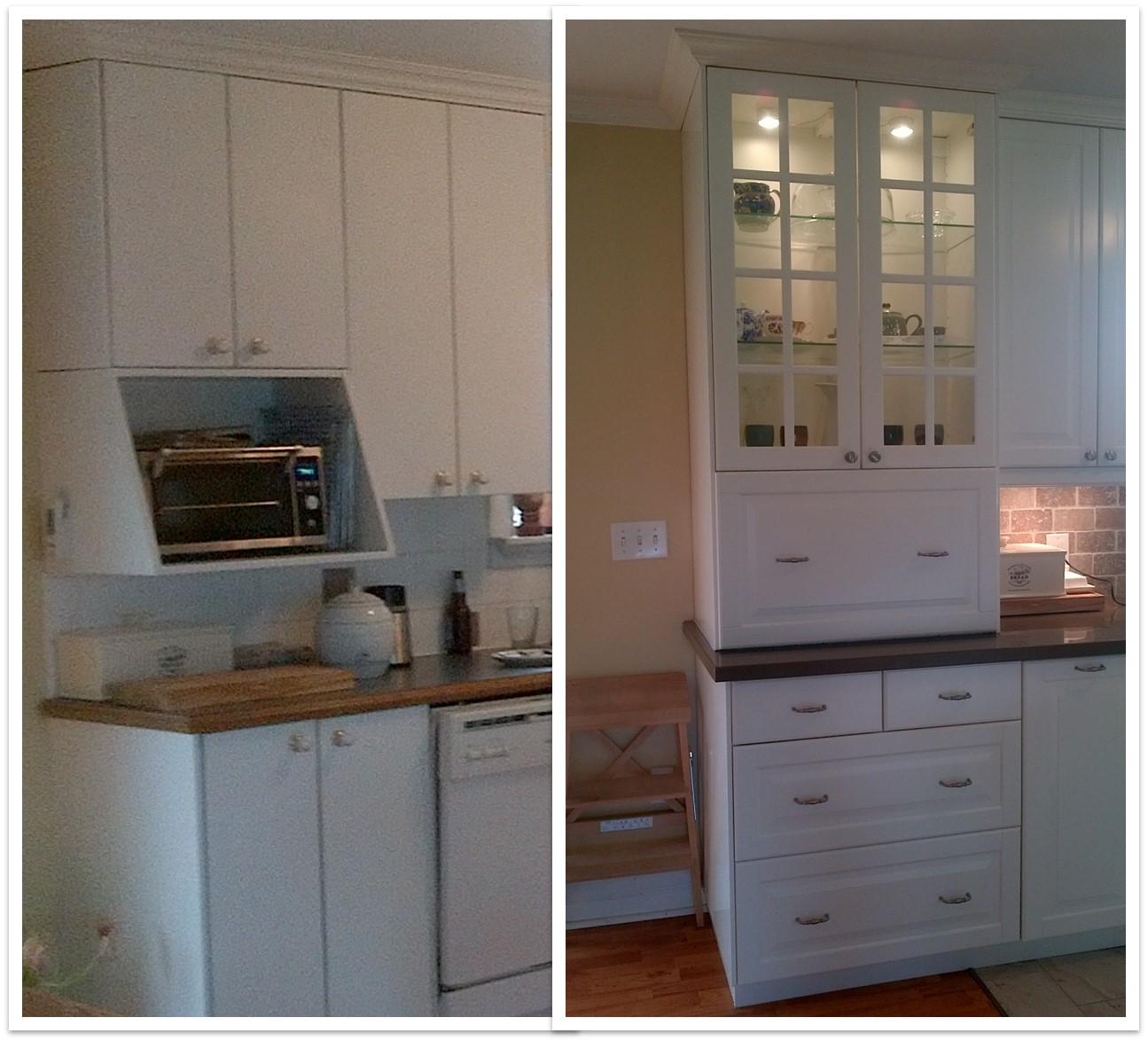 Cabinets From Ikea: Custom IKEA Kitchen Cabinets For A Family On The Go