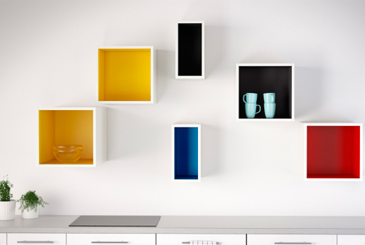 Ikea 39 s sektion is exploding with color - Etagere murale fixation invisible ikea ...