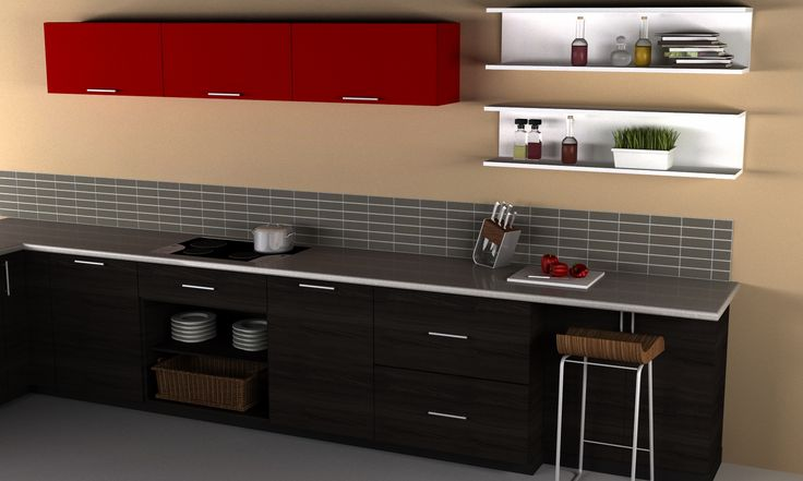 Ikea 39 s sektion is exploding with color for Ikea sektion kitchen cabinets