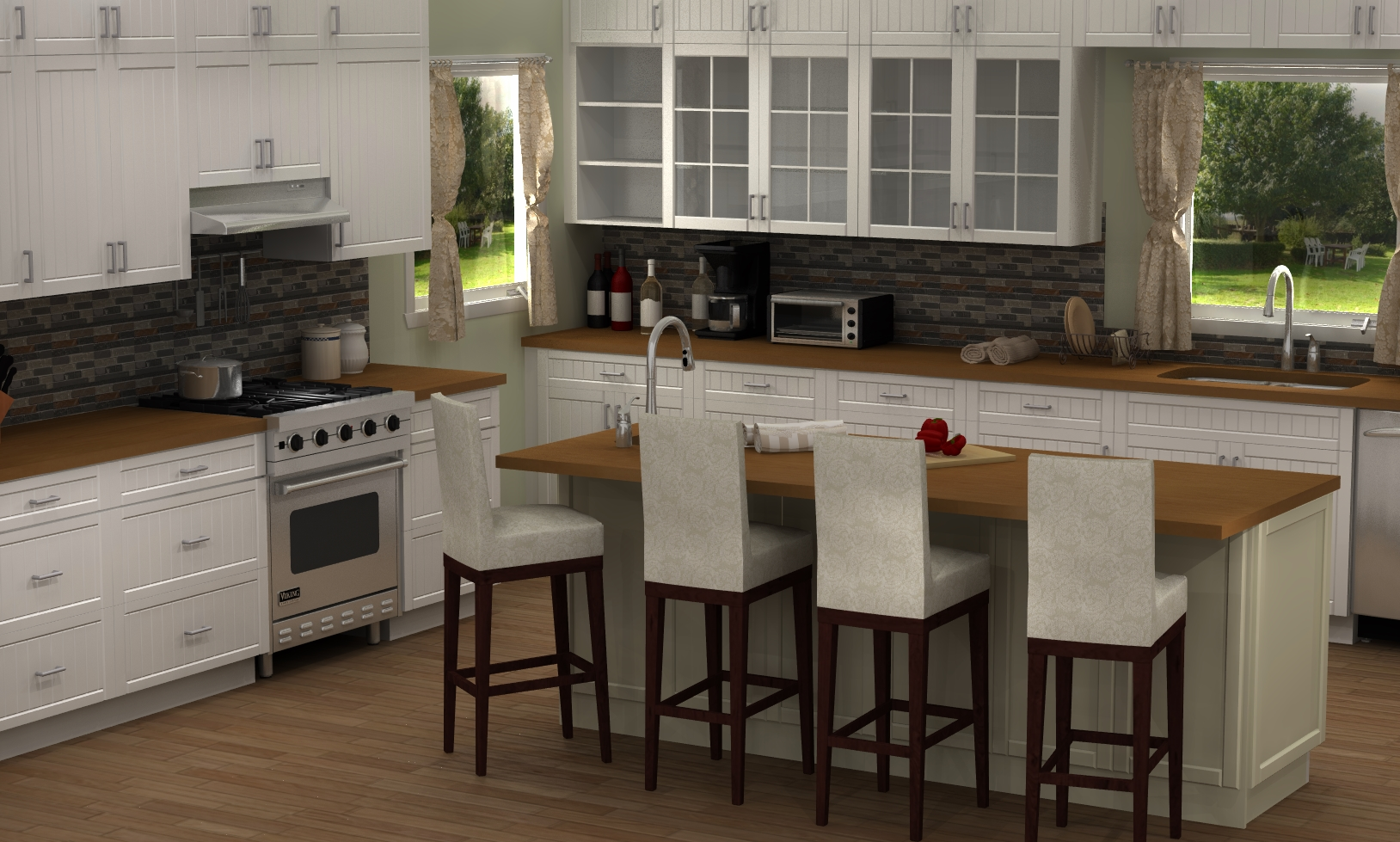 Sektion White Kitchens