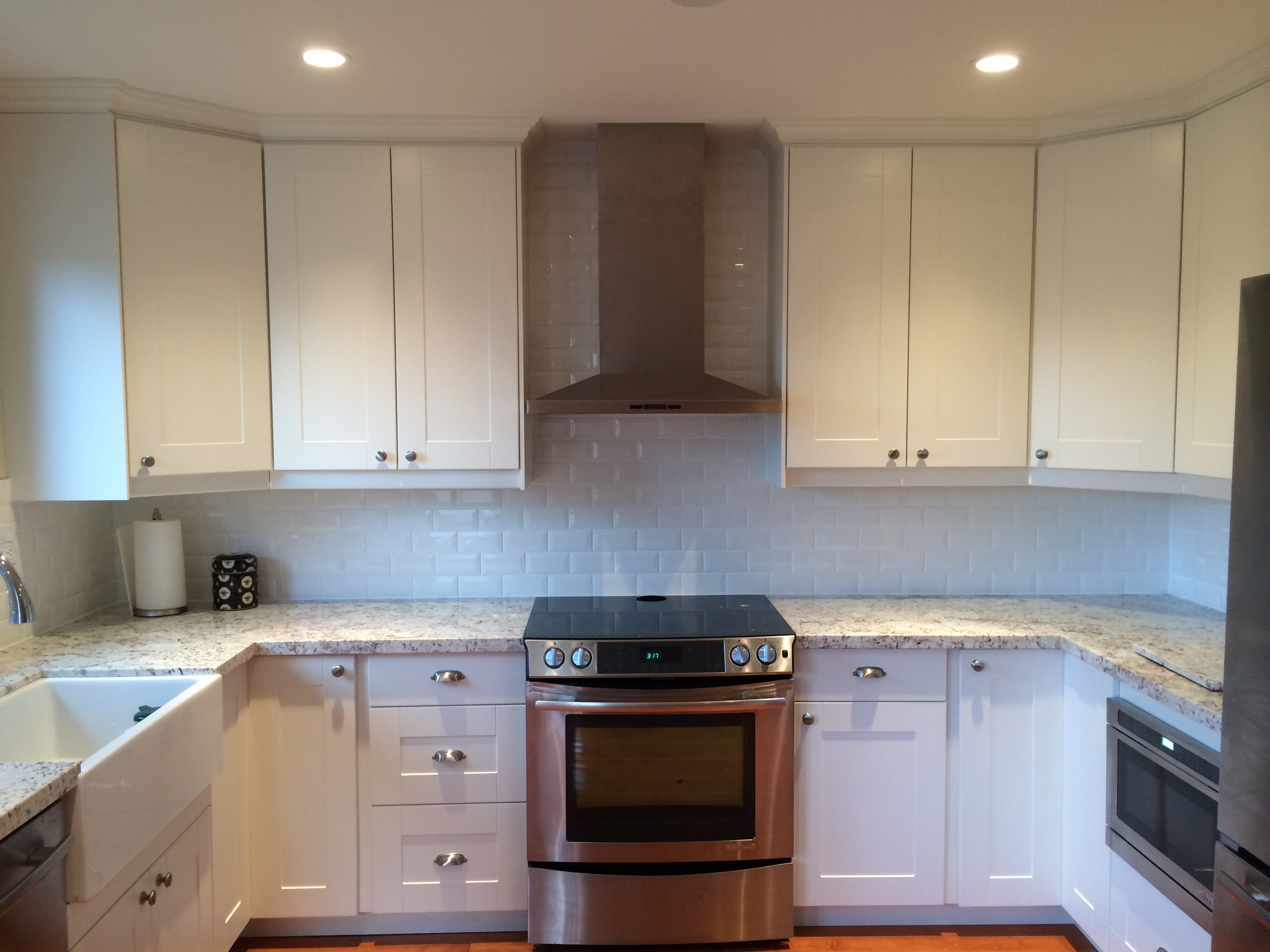 A refreshing ikea facelift for a canadian kitchen for Fitted kitchen cabinets